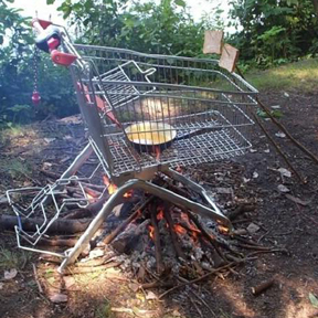 simple outdoor bbq